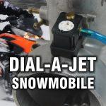 Dial-A-Jet Snowmobile